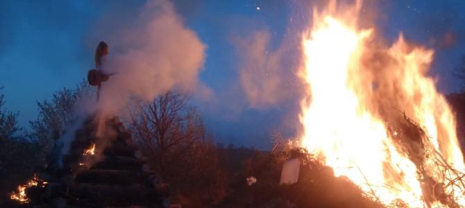Tradiční pálení čarodějnic 2015