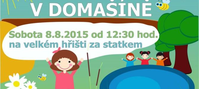 Dětský den 2015 na velkém hřišti už tuto sobotu!