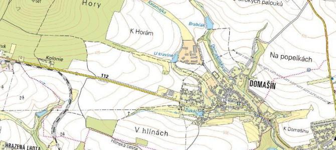Nahlédněte do obnovené katastrální mapy Domašína po digitalizaci