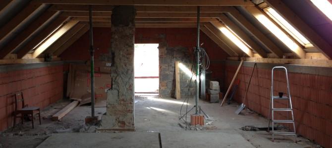 Rekonstrukce hasičské zbrojnice bude hotova na jaře 2016