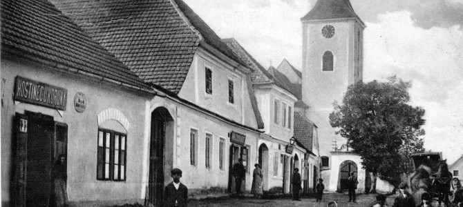 Staré fotografie a pohlednice Domašína a jeho okolí
