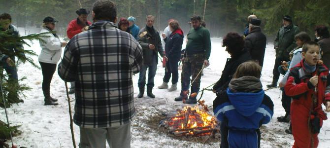 Vydejte se na novoroční pochod zimní přírodou v novém roce 2018