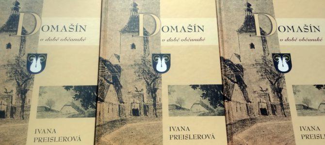 """Kniha """"Domašín v době občanské"""" je v prodeji"""