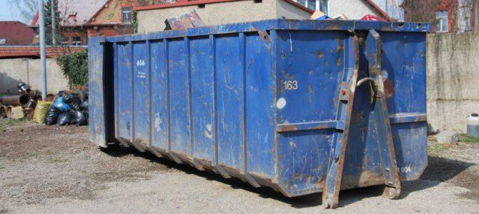 Informace o umístění velkoobjemových kontejnerů v Domašíně