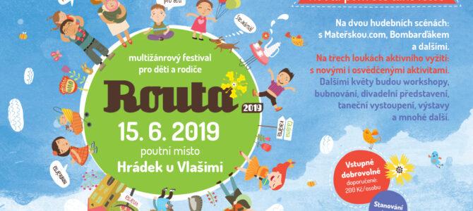 Pozvánka na festival Routa na Hrádku